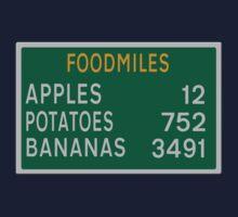 Foodmiles - Distances Kids Clothes