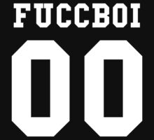 FUCCBOI (inverted) x Pyrex Vision by ALLCAPS