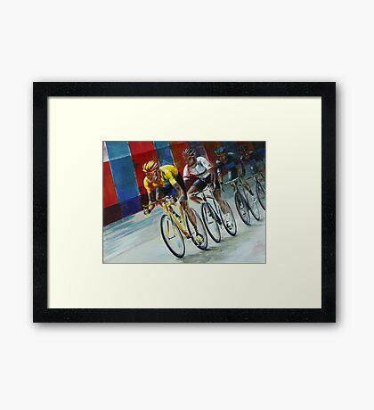 Champs Elysees Framed Print