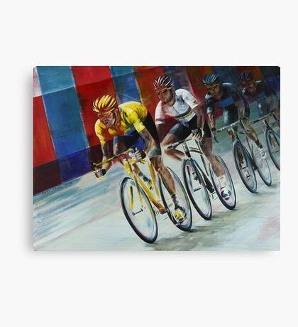 Champs Elysees Canvas Print