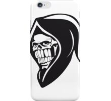 Death hooded sweatshirt evil iPhone Case/Skin