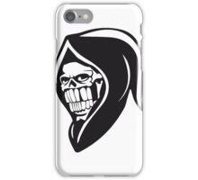 Death hooded sweatshirt evil iPhone Case/Skin
