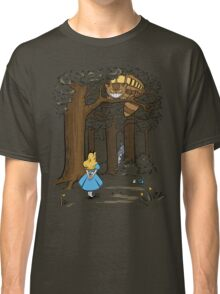 My Neighbor in Wonderland (Army) Classic T-Shirt
