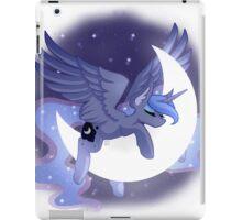 Luna Sleeping on Moon iPad Case/Skin