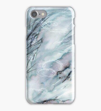 Ripples on the Garden Pond iPhone Case/Skin