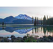 Reflecting on South Sister Photographic Print