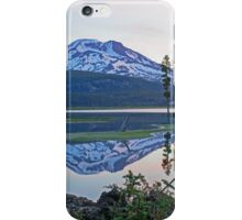 Reflecting on South Sister iPhone Case/Skin
