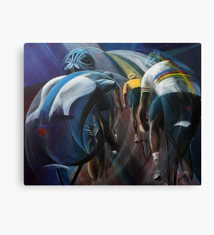 Lead out Canvas Print
