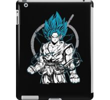 Super Saiyan Goku God Shirt - RB00528 iPad Case/Skin