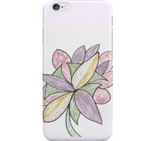 Carnivaled Flower (a Bouquet of Pastel Colours) iPhone Case/Skin