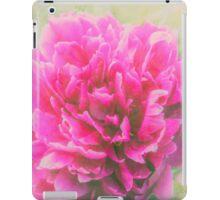 Soft Peony iPad Case/Skin