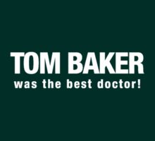 Tom Baker was the best Doctor Who by ademcfade