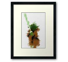 The Green Warrior Framed Print