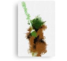 The Green Warrior Canvas Print