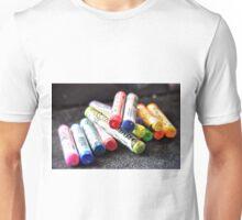 Rainbow Chalk Unisex T-Shirt