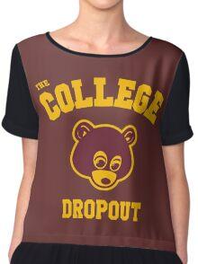 Dropout Chiffon Top