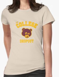 Dropout Womens Fitted T-Shirt