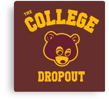 Dropout Canvas Print