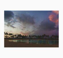 Tropical Sky and Palm Trees - Impressions of Hawaii Kids Tee