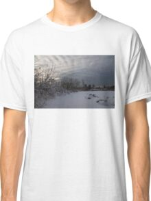 Clearing Snowstorm Classic T-Shirt