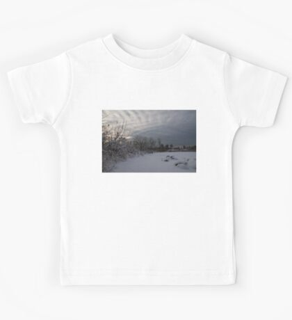 Clearing Snowstorm Kids Tee