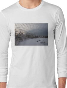 Clearing Snowstorm Long Sleeve T-Shirt