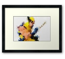 Mr. Claws Framed Print