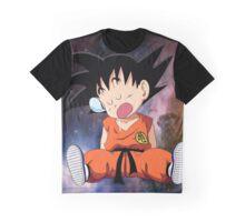Kid Saiyan Graphic T-Shirt