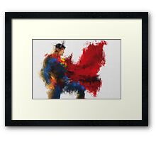 From Space Framed Print