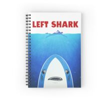 Left Shark Spiral Notebook