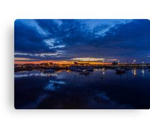 Sunset Harbour Canvas Print
