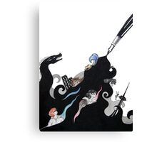 Detective Docherty and the Sorcerer's Game  Canvas Print
