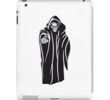 Death hooded evil sunglasses iPad Case/Skin