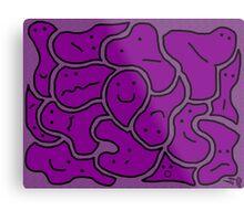 Huddlers Grape Metal Print