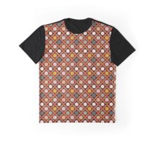 Red Egyptian tiles Graphic T-Shirt