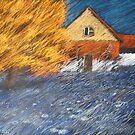 blaues wehen by HannaAschenbach