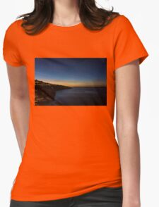Sorrento at Night Womens Fitted T-Shirt