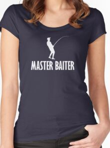 Master Baiter T Shirt Women's Fitted Scoop T-Shirt