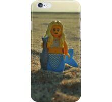 Lego Mermaid at the Beach iPhone Case/Skin