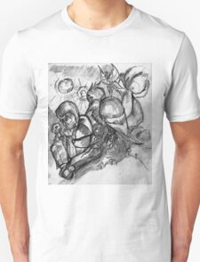 Bowoop and fey watch Cognac play chess Unisex T-Shirt
