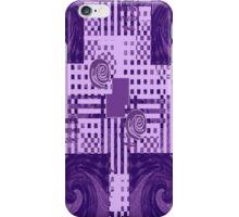 Passionately Purple Pattern iPhone Case/Skin
