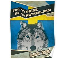Respect The Wolf Poster