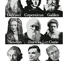 The Apostles of Science by apeshirt