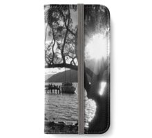 Moored for Sunset iPhone Wallet/Case/Skin