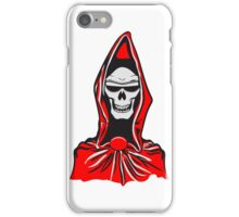 Death hooded robe evil sunglasses iPhone Case/Skin