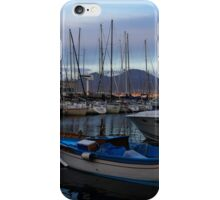 Vesuvius and the Boats II iPhone Case/Skin