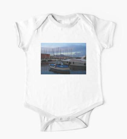 Vesuvius and the Boats II One Piece - Short Sleeve