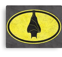 Good Night, Mr Bat! Canvas Print