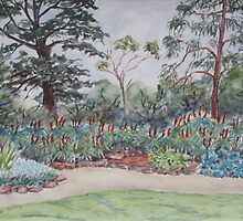 Truganina Explosives Reserve Keeper's Quarters Garden by Virginia  Coghill