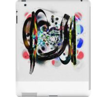 Contemplating The Virtues Of Abstract Thought iPad Case/Skin